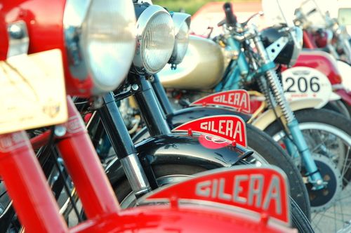 Gilera Motorcycles at Motogiro