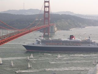 Queen Mary at Golden Gate